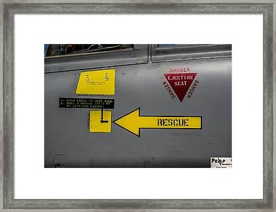 Sign Framed Print by David Shorter