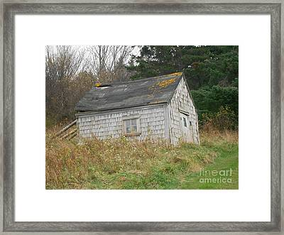 Sign Of Neglect Framed Print