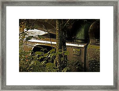 Sign Of The Times Framed Print by Andy Crawford