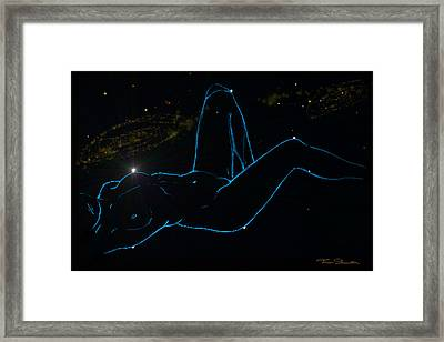 Sign Of The Zodiac Woman Ce 2 Framed Print