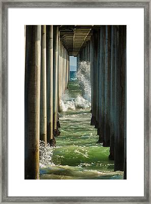 Sign Wave Framed Print