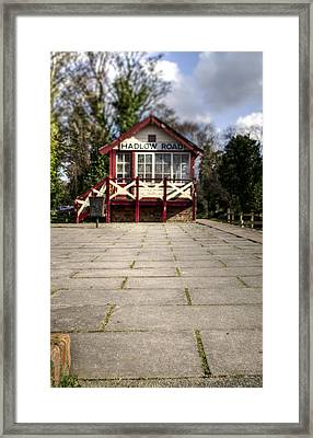 Signal Box Framed Print