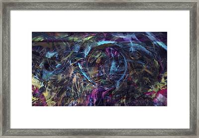 Signal To Noise Framed Print by Linda Sannuti