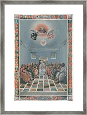 Signorelli Luca, Standard Crucifixion Framed Print by Everett