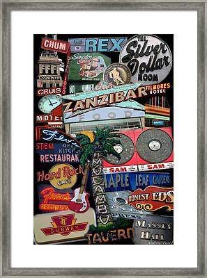 Signs 1c Framed Print by Andrew Fare
