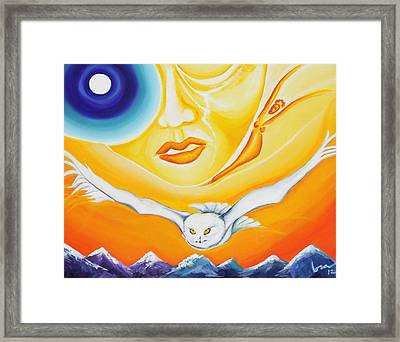 Signs Framed Print by Lora DAgnillo