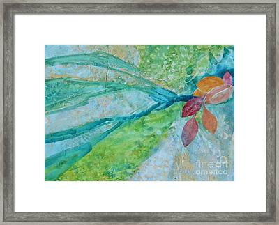 Signs Of Fall Framed Print