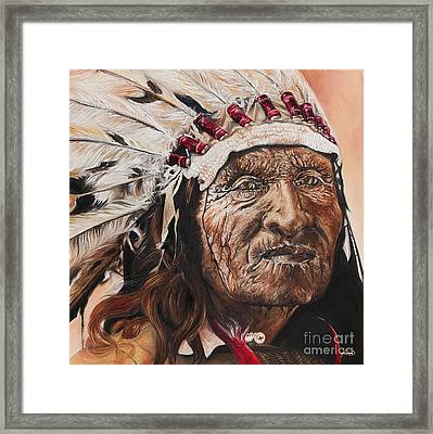 Signs Of His Times Framed Print by Annalise Kucan