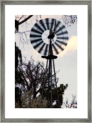 Signs Of The Approaching Storm Framed Print by Mick Anderson