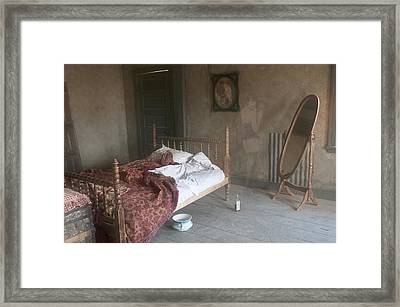 Signs Of The Past Framed Print by Carolyn Dalessandro