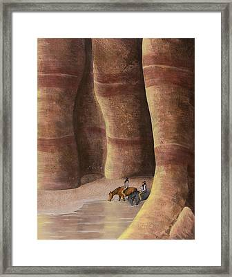 Signs Of The Past Framed Print by Jack Malloch