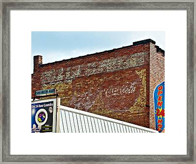 Signs Signs Everywhere A Sign Framed Print by Steve Harrington