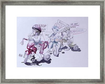 Signsofconfusion Framed Print