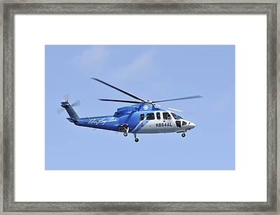 Sikorsky S-76c Framed Print