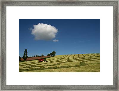 Silage Collection Framed Print