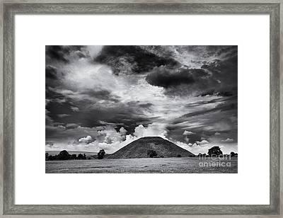 Silbury Hill  Framed Print by Tim Gainey