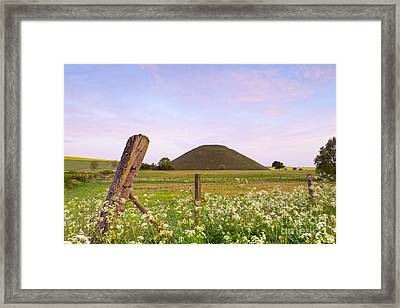 Silbury Hill Wiltshire Early Morning  Framed Print by Colin and Linda McKie