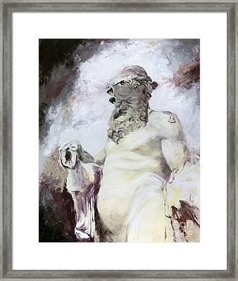 Silen Framed Print by Karina Plachetka