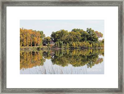 Silence And Solatuid  Framed Print by Lori Tordsen