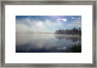 Silence Brings You Home Framed Print by Dagmar Batyahav