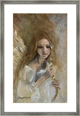 Silence Framed Print by Dorina  Costras