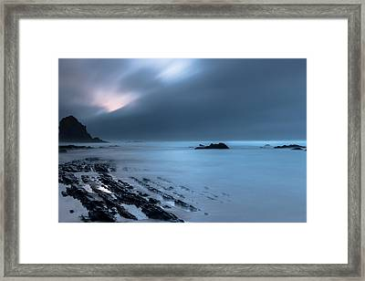 Framed Print featuring the photograph Silence by Edgar Laureano