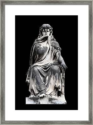 Silence Framed Print by Fabrizio Troiani