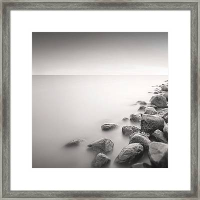 Framed Print featuring the photograph Silence II by Frodi Brinks