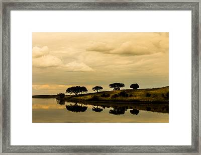 Silence In Soul Framed Print by Filomena Francisco