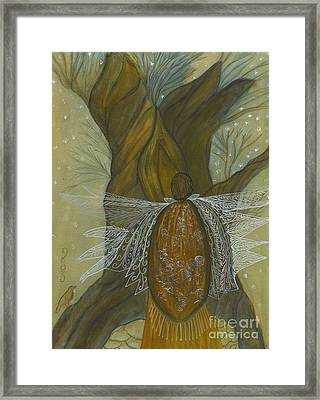 Silence Framed Print by Nancy TeWinkel Lauren