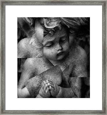 Silence Of A Seraphim  Framed Print by Empty Wall