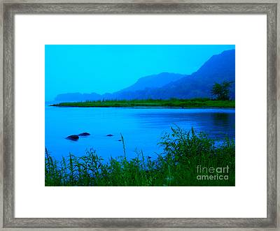 Silence Of Nature Framed Print by Ginny Gaura