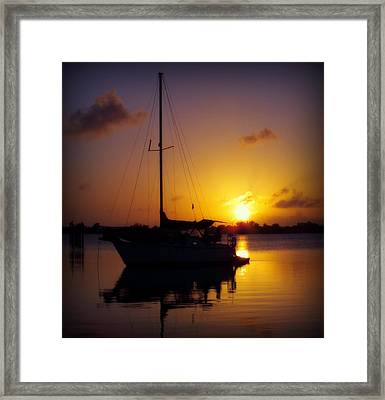 Silence Of Night Framed Print