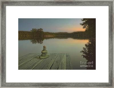 Silence Of The Wilderness Framed Print