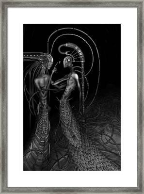 Silence Framed Print by Rodrigo Vieira