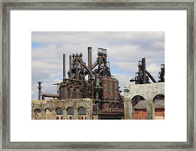 Silenced Behemoth Framed Print