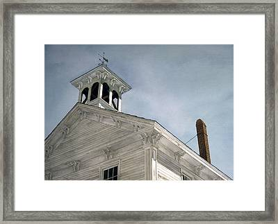 Framed Print featuring the painting Silenced Bell by Tom Wooldridge