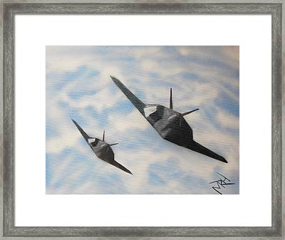 Silent But Deadly Framed Print by Michael Hall