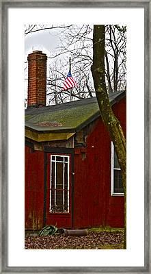 Silent December Memorial Framed Print