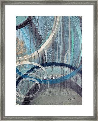 Silent Drizzle II Framed Print by Ruth Palmer