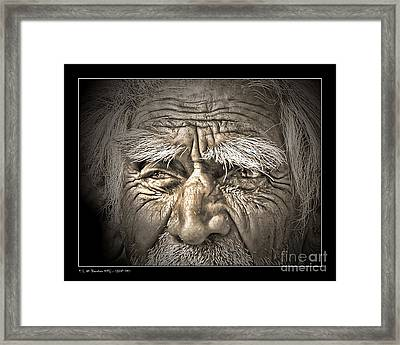 Silent Eyes Framed Print