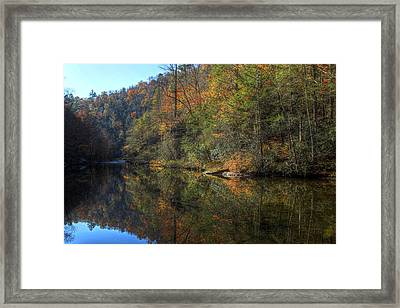 Silent Fall Framed Print by Gregory Cook