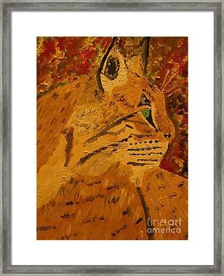 Silent Hunter Framed Print by Harold Greer