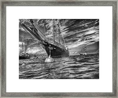 Framed Print featuring the photograph Silent Lady by Howard Salmon