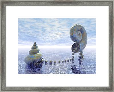 Silent Love - Surrealism Framed Print