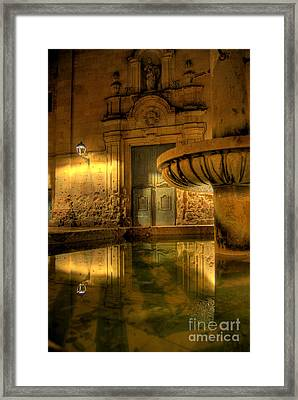 Silent Lucidity Framed Print by Erhan OZBIYIK