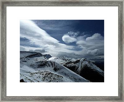 Silent Majesty Framed Print by Shirley Sirois