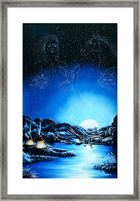 Silent Mysteryiii Framed Print by Lori Salisbury