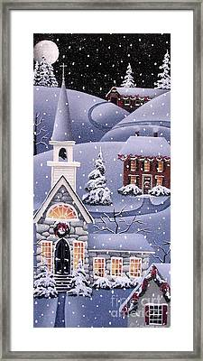 Silent Night Framed Print by Catherine Holman