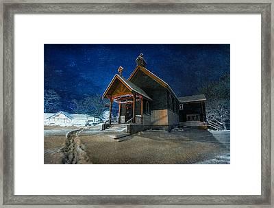 Silent Night Framed Print by Everet Regal